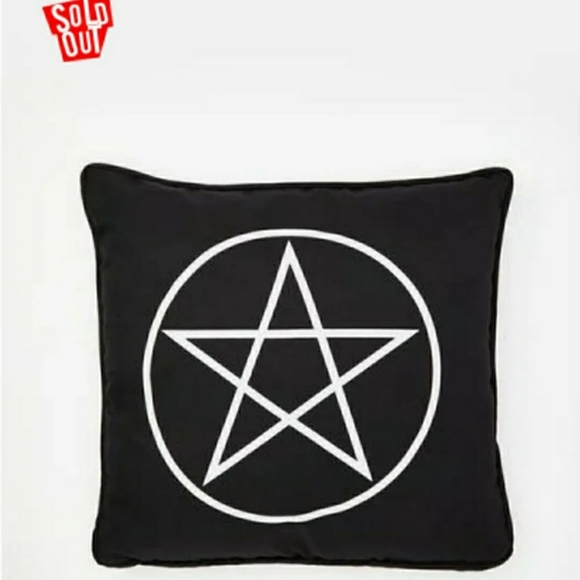 Dolls Kill Other - DollsKill Pentagram Throw Pillow/Cushion